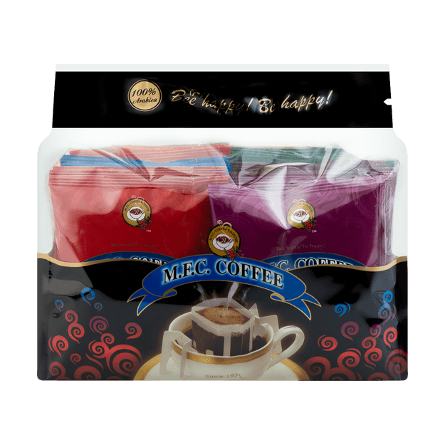Product Detail - Honey Bee Coffee Surprise Gift Pack Seven Classic Flavors Warm and Sweet Sharing Pack 210g - image 0