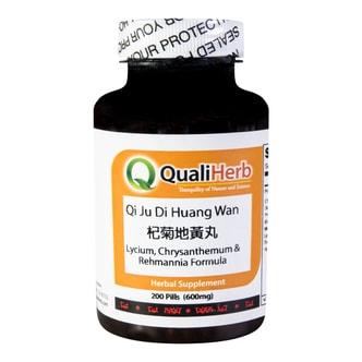 Quali Herb Lycium Chrysanthemum Rehmannia Formula Supplement 200pills 600MG