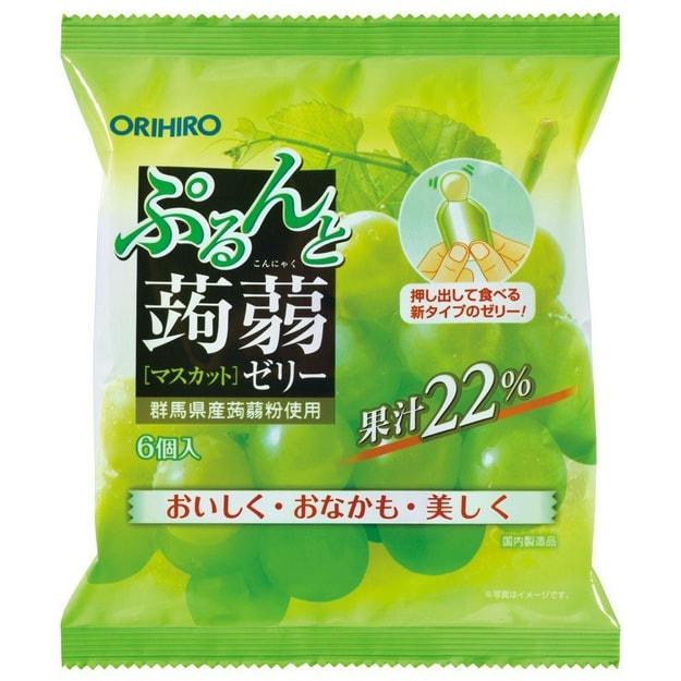 Product Detail - ORIHIRO Konnyaku Jelly Muscat 6pcs - image  0