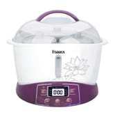 HANNEX Electric Cooker Stew Pot 3.2 L Purple ESTJ322W 3-6 People Serving