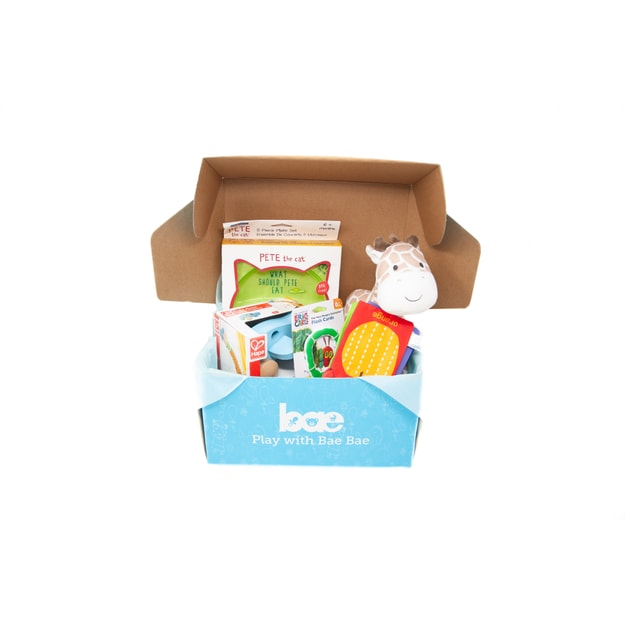 Product Detail - US Bae Bae Box 11 months baby toy box 4 pieces - image 0