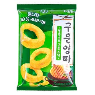 韩国HAITAI海太 X CALBEE卡乐B 彭化烤洋葱圈 大包 140g