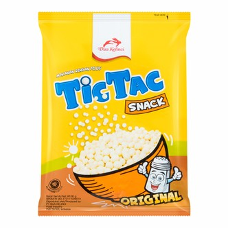 印尼DUA KELINCI双兔 TICTAC 木薯零食 原味 90g