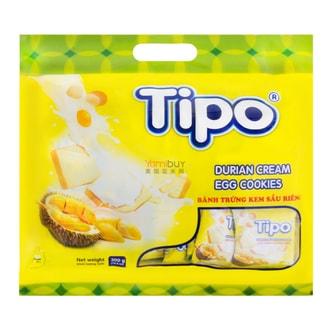 越南TIPO 白巧克力面包干 榴莲味 300g 30包入