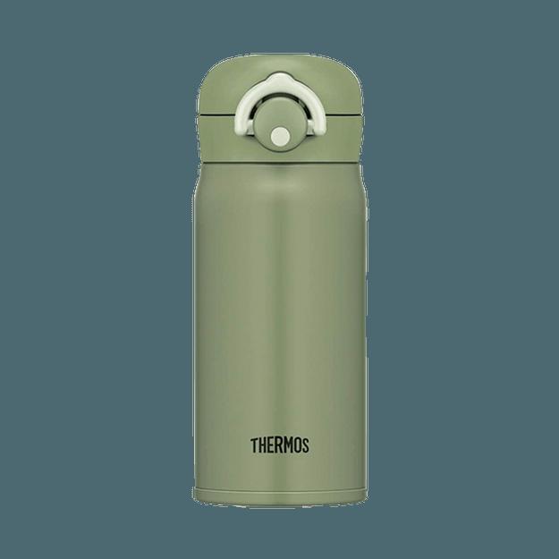 商品详情 - THERMOS 膳魔师||一键式轻量便携保温杯 JNR||牛油果绿 350ml - image  0