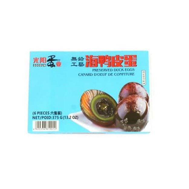 商品详情 - 光阳 无铅海鸭皮蛋 375g - image  0