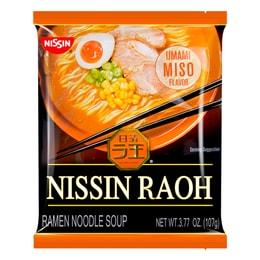 日本NISSIN日清 RAOH 猪骨浓汤拉面 味噌味 107g