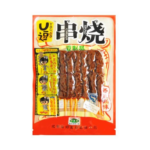 商品详情 - 口水族 U逗串烧 香辣川味 70g - image  0