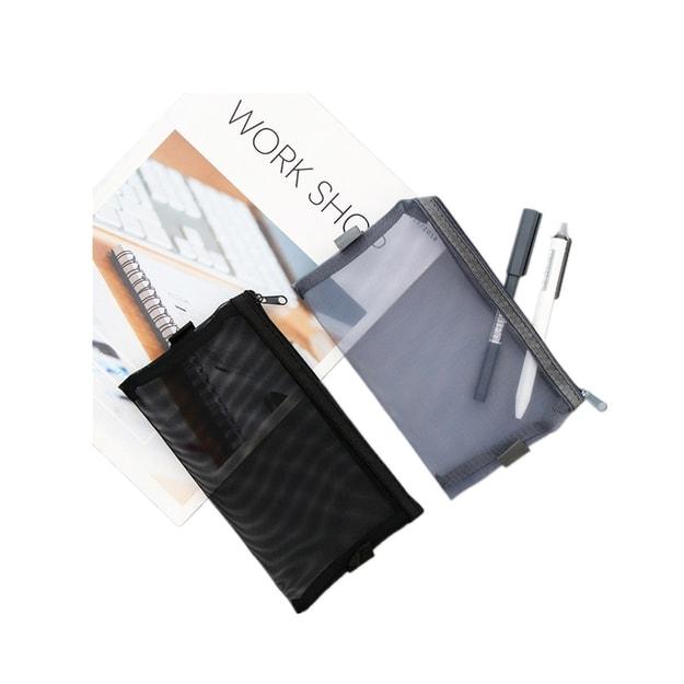 Product Detail - LEARN&WORK Korean Style Nylon Grenadine Pencil Case 1PC/Set - image 0