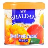 日本MY SHALDAN 汽车室内真正水果香气除臭剂 芒果 80g