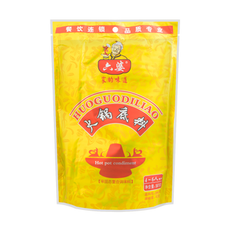 LIUPO Spicy Hot Pot Soup Base 580g