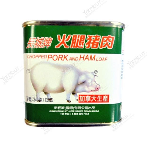 商品详情 - 长城牌 火腿猪肉罐头 午餐肉 340g - image  0