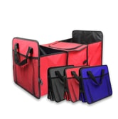 RAMBLE Cars Folding Storage Box Trunk Rear Rack Bag Vehicle Toolbox Multi-use Tools Organizer Debris Bag Black 1pc