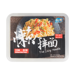 YUMEI The Lazy Noodle Sichuan Spicy Flavor 240g