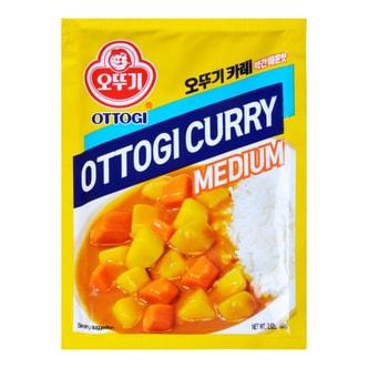 韩国OTTOGI不倒翁 咖喱粉 中辣 袋装 4人份 100g