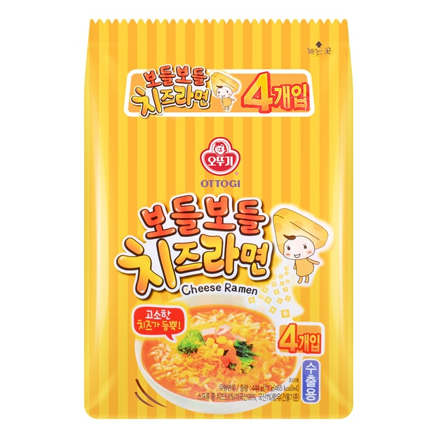 OTTOGI Cheese Ramen 4pcs