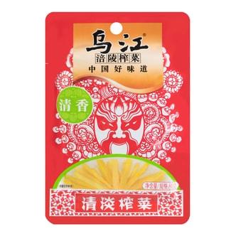乌江涪陵榨菜 清香清淡榨菜 80g