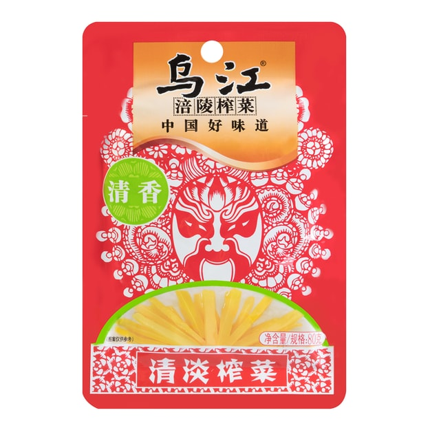 Product Detail - WUJIANG Crispy Light Preserved Mustard 80g - image 0