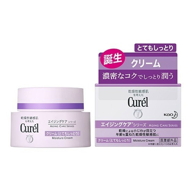 Product Detail - CUREL Aging Care Series Moisture Cream 40g - image 0