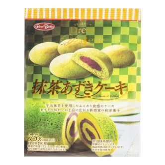日本SHOEI DELICY DRESS PAIETTE 宇治抹茶红豆夹心蛋糕曲奇 75g