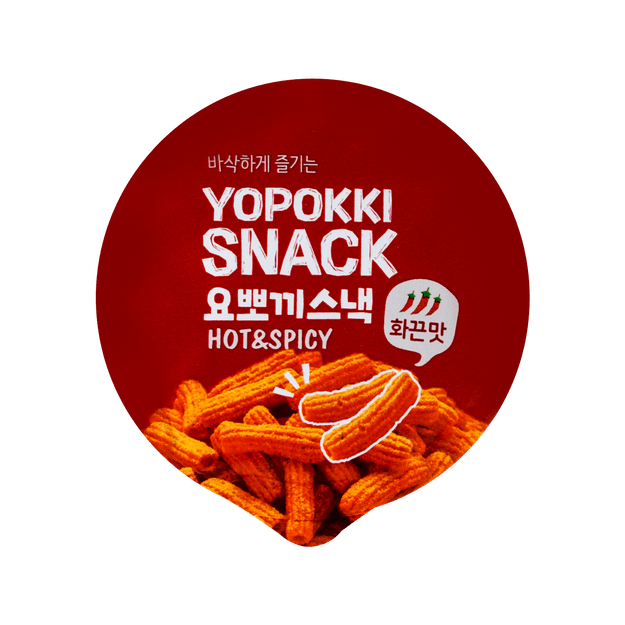 Product Detail - YOUNGPOOONG Yopokki Shaped Snack Hot & Spicy 50g - image  0