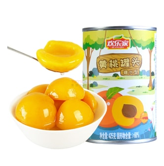 HUANLEJIA Canned Yellow Peach 425g