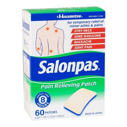 SALONPAS Pain Relieving Patch 60 Sheets