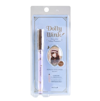 KOJI DOLLY WINK Waterproof Pencil Eyeliner  Dark Brown