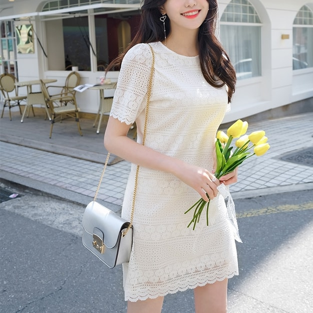 Product Detail - ATTRANGS dress Ivory free - image 0