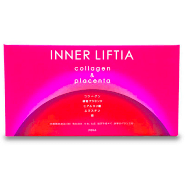JAPAN POLA Inner Liftia Collagen and Placenta 90 Sticks Value Pack