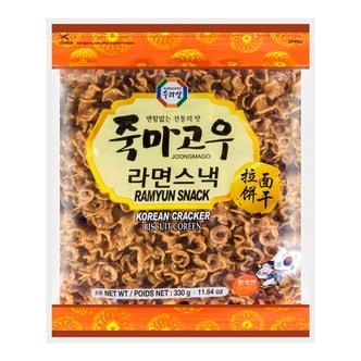 韩国三进牌 拉面饼干 330g