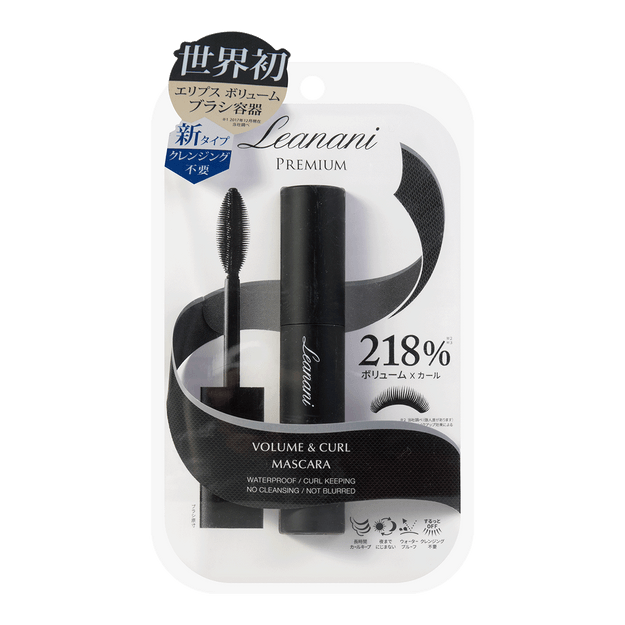 Product Detail - LEANANI Premium Volume & Curl Mascara #Black 1pc - image 0