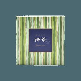日本香堂||吉祥如意 塔香||绿茶 12颗·內附香托