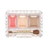 日本CANMAKE 秘密眼妆三色渐变眼影 #01橘棕色 1件入