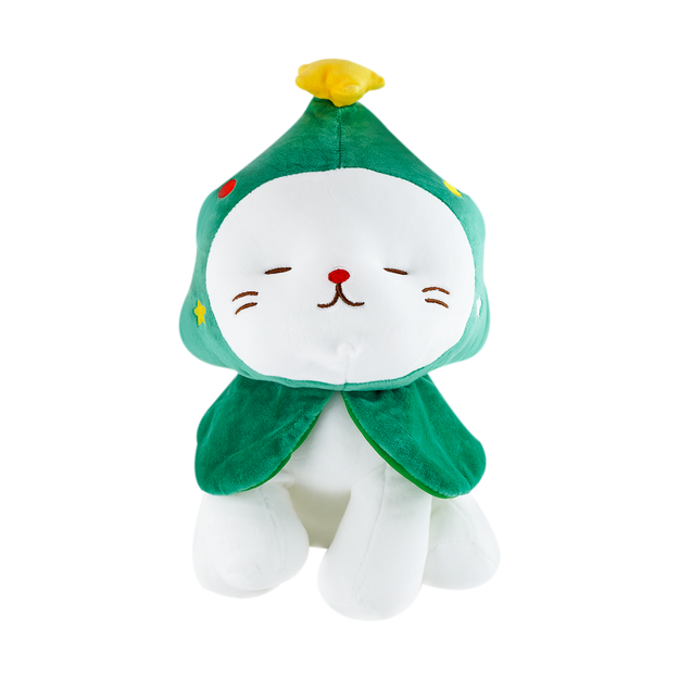 Product Detail - Christmas Series Kitten Plush Toy(Christmas Tree) - image  0