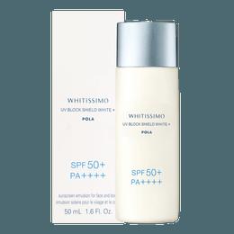Whitissimo UV Block Shield White  SPF50 PA++++ 50ml
