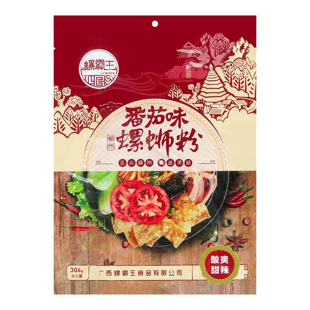 Product Detail - LUOBAWANG Luo Si Rice Noodles Tomato Flavored - image 0