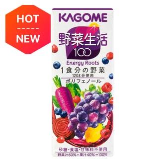 日本KAGOME野菜生活 抗氧化美颜紫色蔬果汁 200g