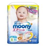 日本MOONY尤妮佳 通用婴儿尿不湿学习裤 S号 4-8kg 62片入