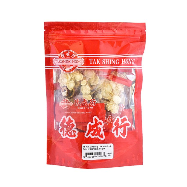 Product Detail - TS Am.Ginseng Tea With Red Date 5gx8 - image 0