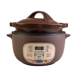 【Pre-order-Ship in 5~15 Days】SONYA Multi Function Purple Clay Pot Slow Cooker Electric Stew Cooker 3L STC-30