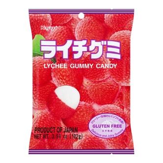 日本春日井 水果QQ软糖 荔枝味 102g