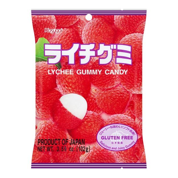 商品详情 - 日本春日井 水果QQ软糖 荔枝味 102g - image  0