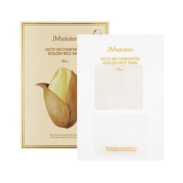 商品详情 - 韩国JM SOLUTION 酵母乳黄金大米面膜 1片入 - image  0
