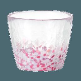 ISHIZUKA GLASS 石塚硝子||津轻 日系玻璃蕎麦猪口樱花玻璃杯 F79437||1个