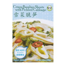 NEW HEALTH Crisp Bamboo Shoots with Picked Cabbage 280g