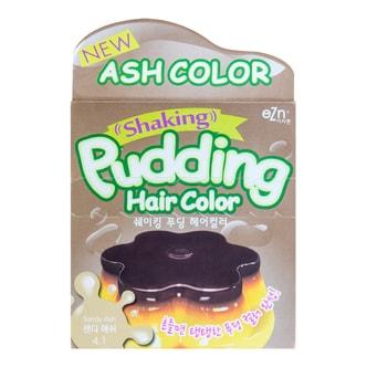 DONGSUNG PHARM EZN Shaking Pudding Hair Color 4.1 Sandy Ash