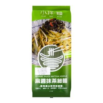 台湾老妈拌面 小拌面 麻酱抹茶细面 330g 纯手工制作