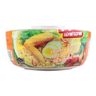 FF Thailand Oriental Chicken Flavor Instant Noodle in bowl 65g