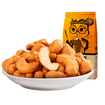 THREE SQUIRRELS--Cashew nut 185g